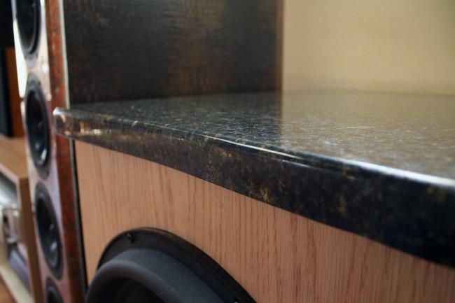 granite subwoofer top